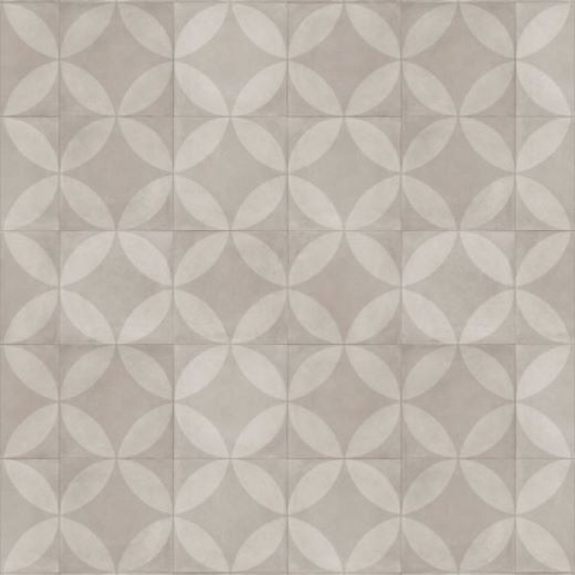 Tile Flower Light Beige